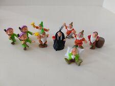 Disney Snow White mini figures dwarfs and Witch, Free shipping