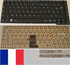 Teclado Azerty Francés SAMSUNG R453 R458 R408 R410 R460 Serie V072260BK1 Negro