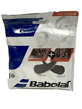 Babolat RPM Blast 17 + VS 16 Tennis String Hybrid New Black 122278