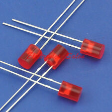 50pcs 5mm Red Normal Brightness Cylindrical LED