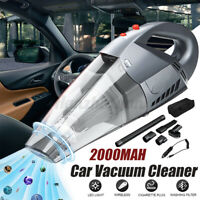 12V 120W 6 in 1 Handheld Cordless Car Vacuum Cleaner Wet&Dry Dust Cleaner