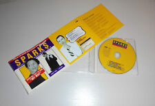 "Single CD Sparks - When do i get to sing ""my Way""  4.Tracks 1994  176"