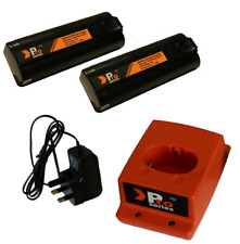paslode replacement charger set with 2 x batteries IM350