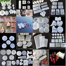 Silicone Resin Mold for DIY Jewelry Pendant Making Tool Mould Handmade Craft