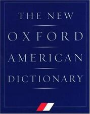 The New Oxford American Dictionary Oxford University Press Hardcover