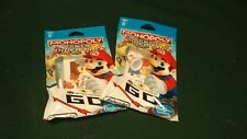 **NIP** Monopoly Gamer Power Pack Nintendo Figures; Lot of 2-Toad & Fire Mario