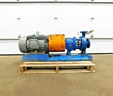 Mo 4226 Goulds 3196 Pump With 30 Hp Motor 2x3 8 575 V 3545 Rpm 316 Ss