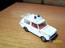 "Corgi Toys : ""Vigilant"" Range Rover Ambulance blanc (1975) - n° 482 - 1/43"