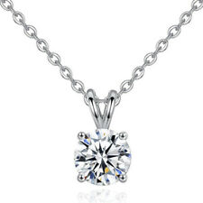 Lady Collier Heart Necklace Crystal Wedding Jewelry Pendant Rhinestone Necklace