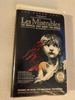 LES MISERABLES MUSICAL IN CONCERT, VHS CLAMSHELL
