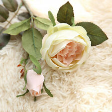 Artificial Fake Flowers Royal Roses Floral Wedding Bouquet Party Home Decor