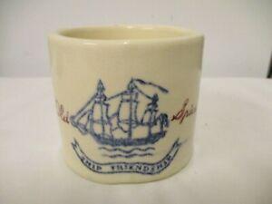 Older Old Spice Ship Friendship Shaving Mug-Men's Vanity