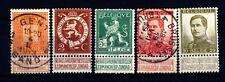 BELGIUM - BELGIO - 1912 - Leone del Belgio  -  Alberto I
