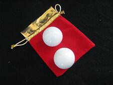 Qi Gong Set Mamor Kugeln Entspannung Übungen Yin Yang Set Kampfkunst Kung Fu