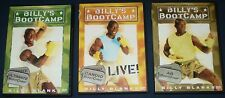 Billy Blanks Dvd's - Ultimate, Cardio & Ab - GoodTimes - Billy's BootCamp