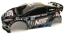 Fiesta ST Rally BODY shell (Brian Deegan Painted cover 1/10 Traxxas Ford 74054-6