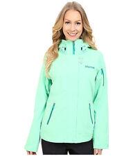 Marmot SNOW QUEEN women's large ski snowboard jacket outerwear green frost