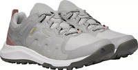 Keen Explore Vent Women's Mesh Lace Up Athletic Hiking Shoes GRAY/ PINK  SIZE 9