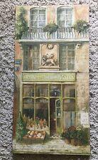 Rue de Paris V Fabrice de Villeneuve Limited Ed Art Print on Canvas 995/999