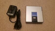 Cisco/Linksys SPA2102 VoIP Phone Adapter Router & Power Cable