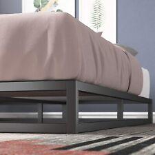 Zinus Joseph 6 Inch Metal Platforma Bed Frame / Mattress Foundation / Wood Slat