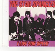 (FX24) The Star Spangles, I Live For Speed - 2003 DJ CD