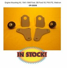 Chassis Engineering Motor Mount 41-48 Ford, SB Ford V8, P/M IFS Weld-on CP-2202G
