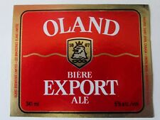 VINTAGE BEER LABEL OLAND BREWERIES LTD HALIFAX ST JOHN Canada - OLAND EXPORT
