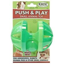 Push & Play Ball - Small Pet Toy - Hedgehog, Guinea Pig, Rabbit, Sugar Glider