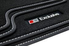 Exclusive Line Fußmatten für Audi A6 4B C5 Avant Kombi S-Line Bj. 1998-2005