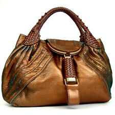 Authentic FENDI Spy bag Handbag leather[Used]