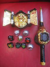 KAMEN RIDER Wizard BELT DX Beast Driver Dice Saber & morpher wizard ring