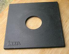 Genuine Inka 140 mm Tablero De Lente Sinar Ajuste Panel Para Copal Compur agujero de 1 41.5 mm