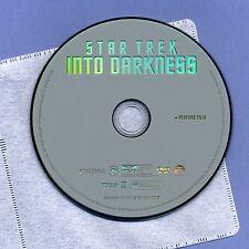 Star Trek Into Darkness 2013 Pg-13 sci-fi movie, Dvd disc & sleeve, Cumberbatch