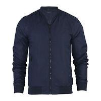 Mens Bomber Jacket Harrington  MA1 Summer Lightweight Coat Jacket Sizes S M L XL