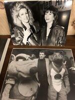 John Travolta Stills 5 Photo Photographie Ancien Vintage Grand Format USA Acte