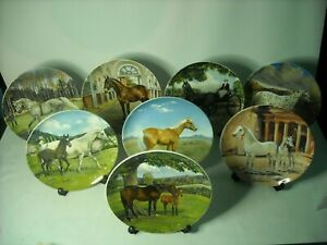 Choose ONE OR MORE Plates THE NOBLE HORSE COLLECTION Spode Plate Susie Whitcombe