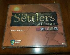 Vintage Settlers of Catan Board Game 1st Edition Mayfair Games #483 NEW SEALED