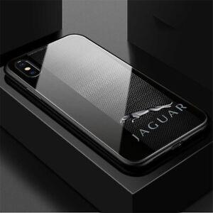 Premium Jaguar Car Logo Symbol Case Cover for iPhone Samsung Huawei