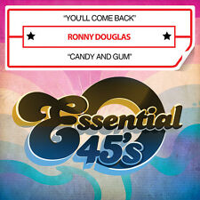 You'll Come Back / Candy And Gum - Ronny Douglas (2014, CD Maxi Single NIEUW)