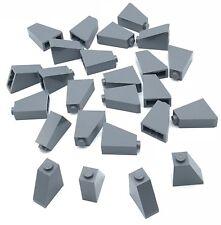Lego 25 New Dark Bluish Gray Slope 65 2 x 1 x 2 Sloped Pieces