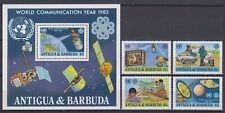 """Antigua - 1983 """"World Communications Year"""" (MNH)"""