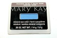"""Mary Kay Mineral Eye Color """"Peacock Blue"""".05 oz Brand New"""