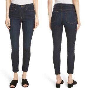 FRAME Le High Skinny Crop Samira Jeans ALL SIZES CROP SHORT LEG JEANS