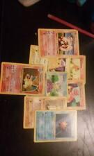 Pokemon base set, jungle, fossil, Gym heros pre-made packs. Charizard Blastoise