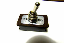 1 Carling Technology Toggle Switch,On-Off 4 Screws,10/20A 125/250V With 2 Nuts*