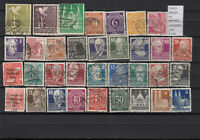 STAMPS LOT GERMANY OCCUPATION  USED (L36424)