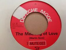 "DEPECHE MODE * THE MEANING OF LOVE * 7""  SINGLE EXCELLENT 1982"