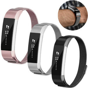 For Fitbit Alta / Alta HR Magnet Milanese Stainless Steel Replacement Band Strap