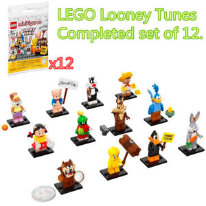 *12 Packs* Complete Full Set LEGO Minifigure 71030 Looney Tunes Character Toy
